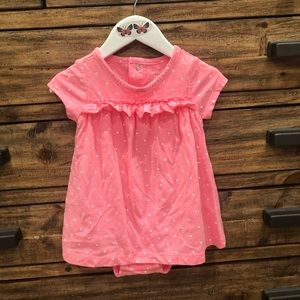 Carter's Girl's Pink Dress/Romper in Size 12 mo